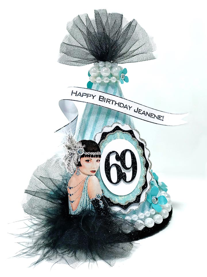 Flapper Party Hat