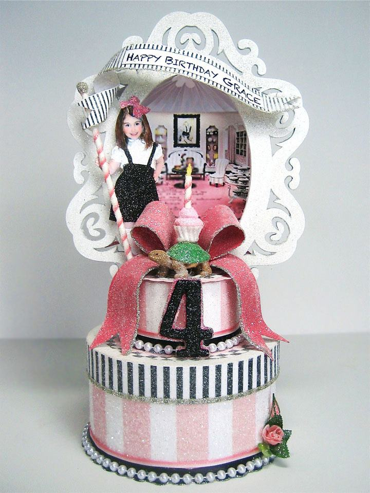 Custom Eloise At The Plaza Inspired Cake Topper