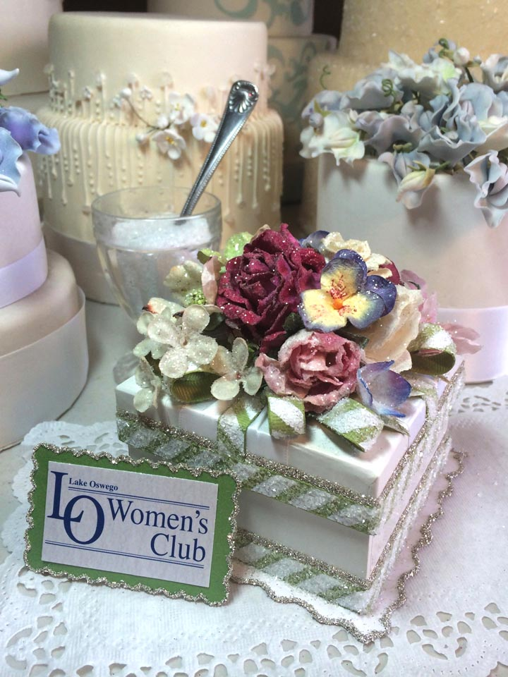 Custom Woman's Club Gift Box