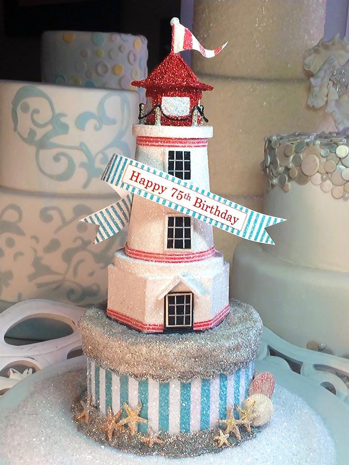 Lighthouse Cake Topper
