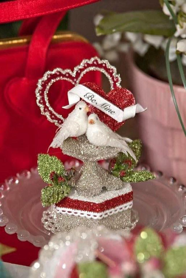Love Birds Gift Box Favor