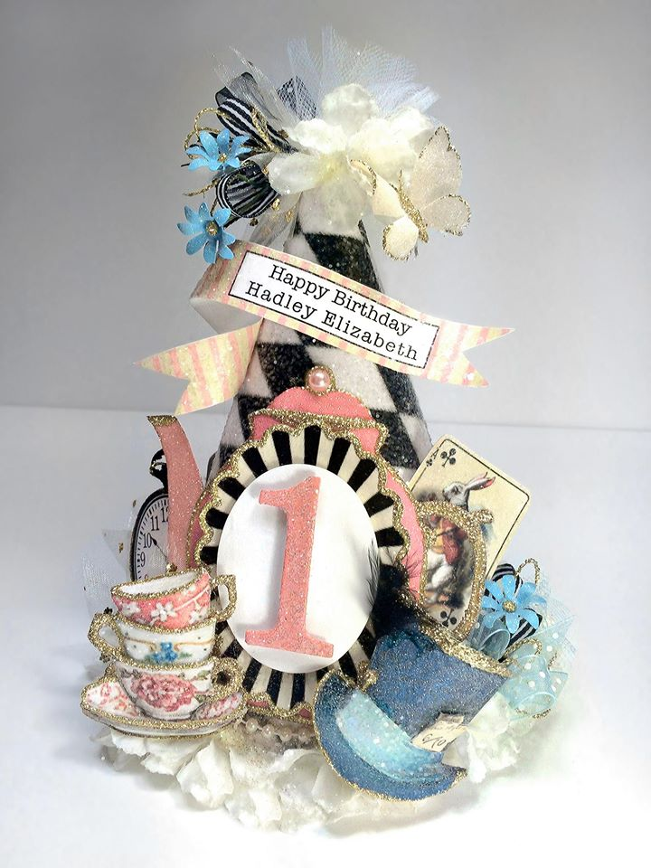 Mad Hatter Tea Party Custom Alice In Wonderland Party Hat