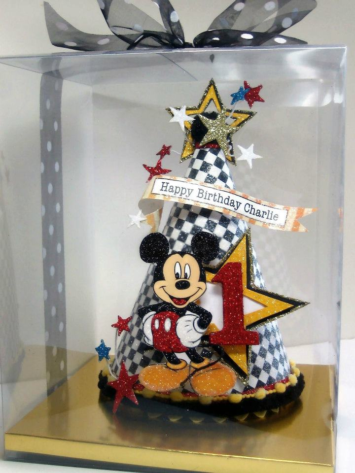Mickey Mouse Birthday Hat