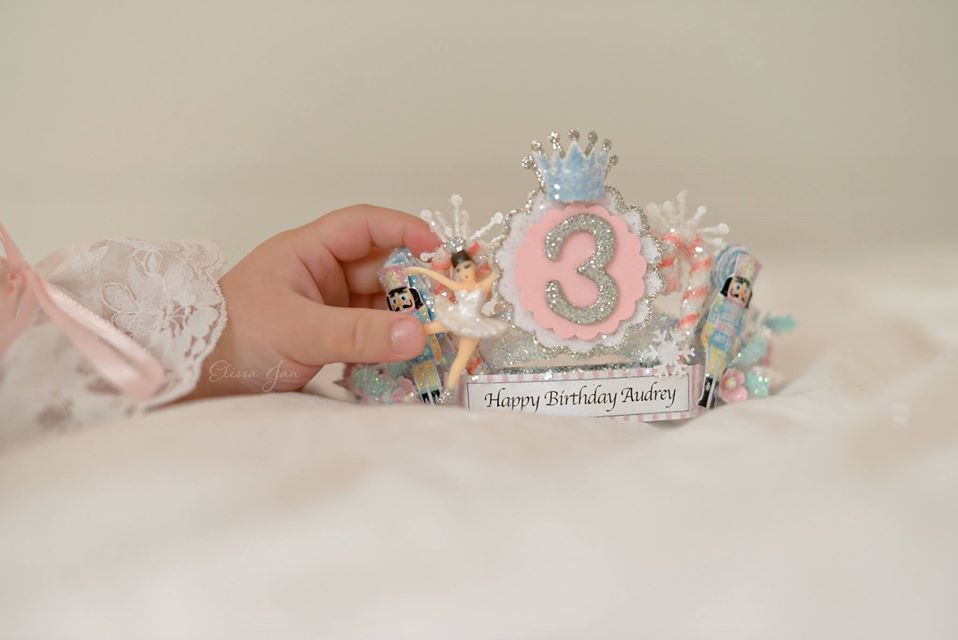 Nutcracker Custom Crown Tiara
