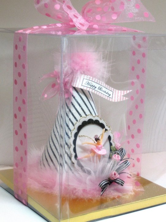 Vintage French Ballerina Fairy Party Hat